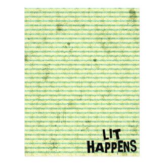Funny Writer Reader Lit Happens Letterhead