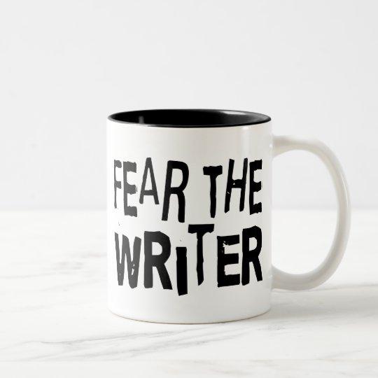 Funny Writer Two-Tone Coffee Mug