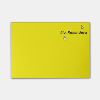 Funny XP Retro Geek My Reminders - Post-it® Notes