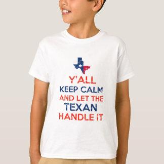 Funny Y'all Texan tees