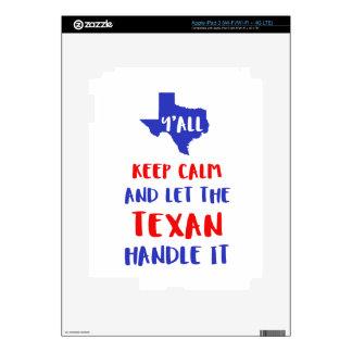 Funny Y'all Texas Girl Tees iPad 3 Skins