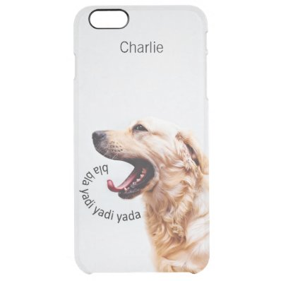 Funny Yapping Dog custom monogram phone cases