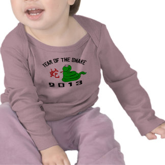 Funny Year of The Snake 2013 T Shirts