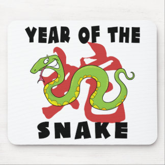 Funny Year of The Snake Mouse Pad