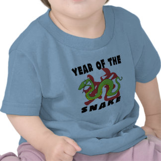 Funny Year of The Snake Tee Shirt