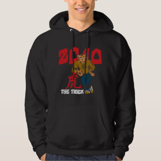 Funny Year of The Tiger 2010 Black Hoodies