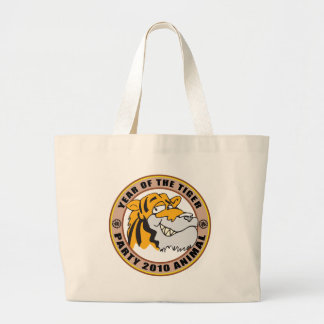Funny Year of The Tiger 2010 Gift Canvas Bags