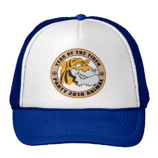 Funny Year of The Tiger 2010 Gift Mesh Hat