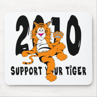 Funny Year of The Tiger 2010 Gift Mouse Pads