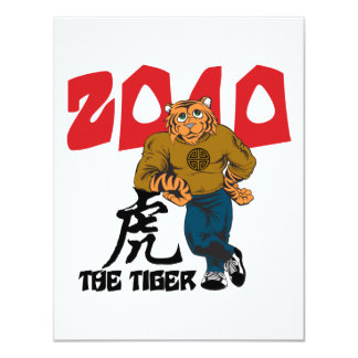 Funny Year of The Tiger Card