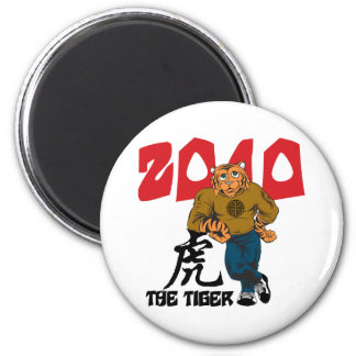 Funny Year of The Tiger Magnets