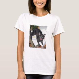 Funny Yelling Cat T-Shirt