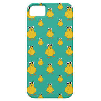 Funny Yellow Chick Pattern iPhone SE/5/5s Case