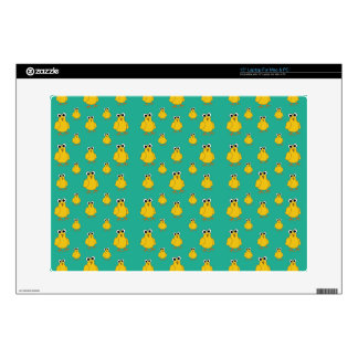 Funny Yellow Chick Pattern Skin For Laptop