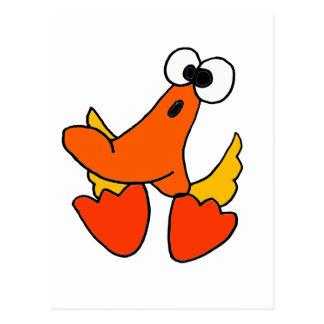Cartoon Duck Postcards | Zazzle