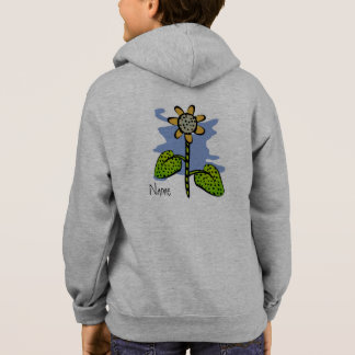 Funny Yellow Flower Hoodie