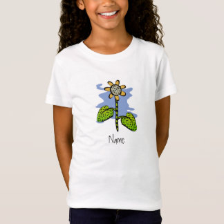 Funny Yellow Flower T-Shirt