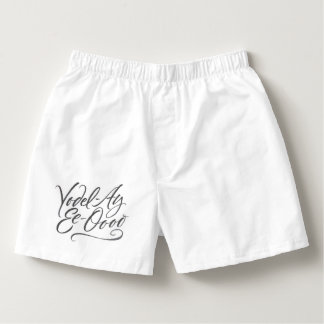 Funny Yodeling Underwear White Boxers - Yodel
