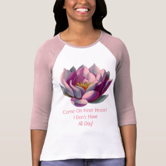 funny yoga and meditation tee