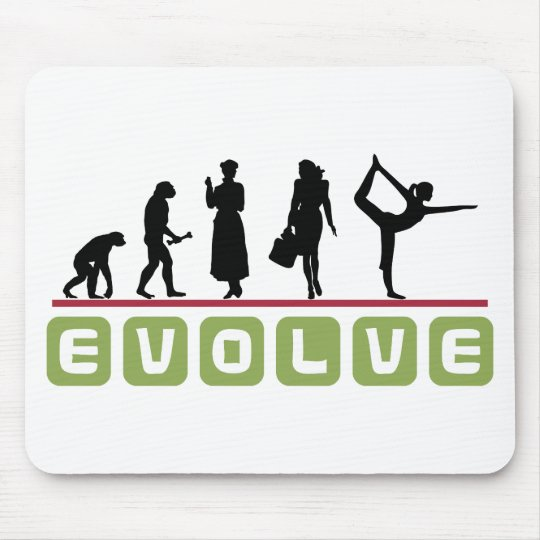 Funny Yoga Gift Mouse Pad
