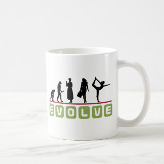 Funny Yoga Gift Classic White Coffee Mug