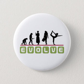 Funny Yoga Gift Pinback Button