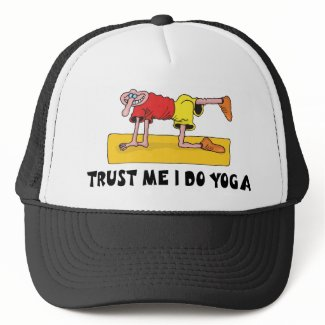 Funny Yoga hat