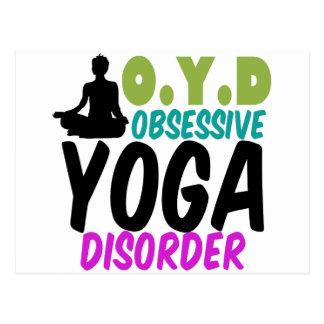 Funny Yoga Postcard