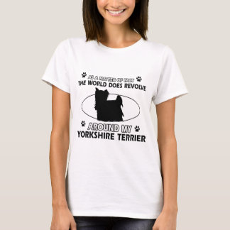 Funny yorkshire terrier designs T-Shirt