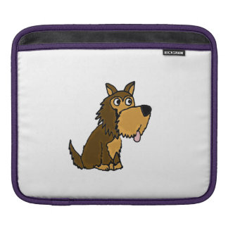 Funny Yorkshire Terrier Puppy Dog Sleeve For iPads