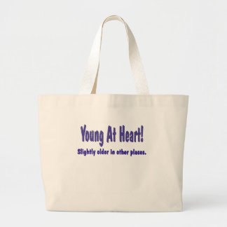 Funny Young At Heart T-shirts Gifts Bags