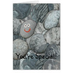 Funny You're Special Thinking of You Rock Card