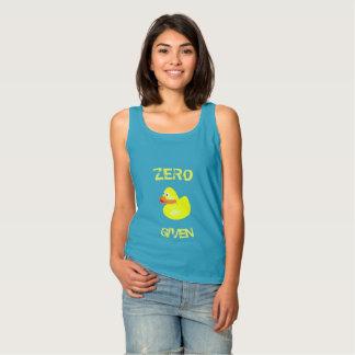 Funny Zero Ducks Given Tank Top