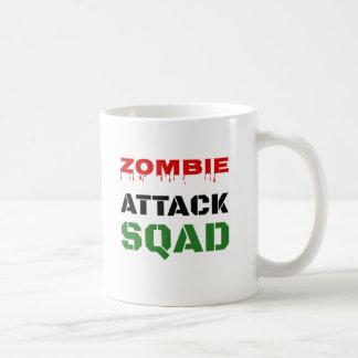Funny Zombie Attack Squad Coffee Mug