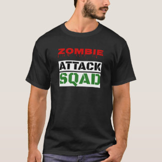 Funny Zombie Attack Squad T-Shirt