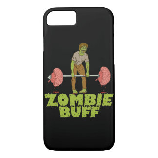Funny Zombie Buff Weight Lifter iPhone 8/7 Case