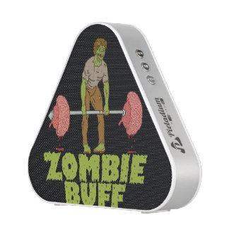 Funny Zombie Buff Weight Lifter Speaker