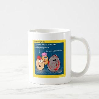 Funny Zombie changing lightbulb cartoon gifts Mug