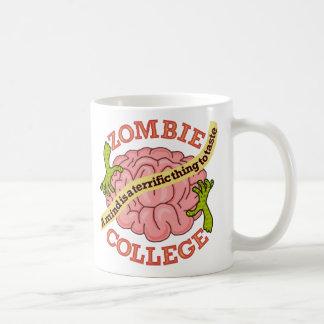 Funny Zombie College Logo Coffee Mug