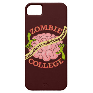 Funny Zombie College Logo iPhone SE/5/5s Case