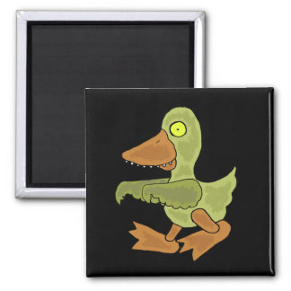 Funny Zombie Duck Magnet