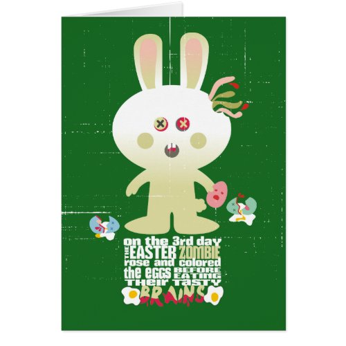 12 creepy easter bunny gift ideas for zombie fans zombie negle Choice Image