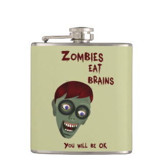 Funny Zombie Flask