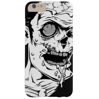 Funny Zombie Horror Face - Cool and Unique Barely There iPhone 6 Plus Case