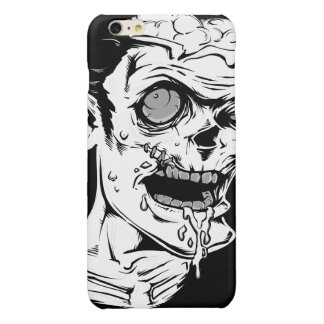 Funny Zombie Horror Face - Cool and Unique Glossy iPhone 6 Plus Case
