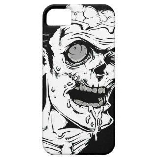 Funny Zombie Horror Face - Cool and Unique iPhone SE/5/5s Case