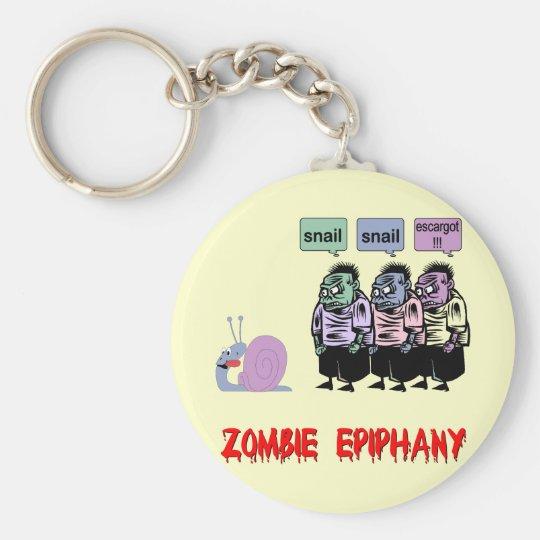 Funny zombie keychain