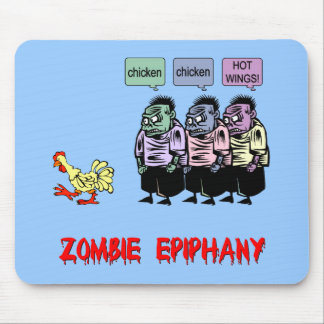 Funny Zombie Mousepads