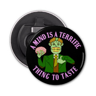 Funny Zombie Professor Proverb