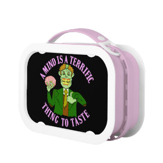 Funny Zombie Professor Proverb Replacement Plate